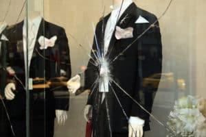 Forsikringsskader butiksruder
